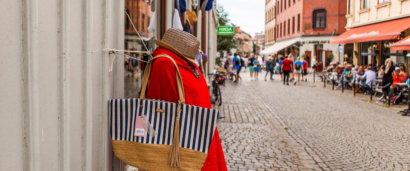 瑞典哥德堡,旧城的步行街_图1-1