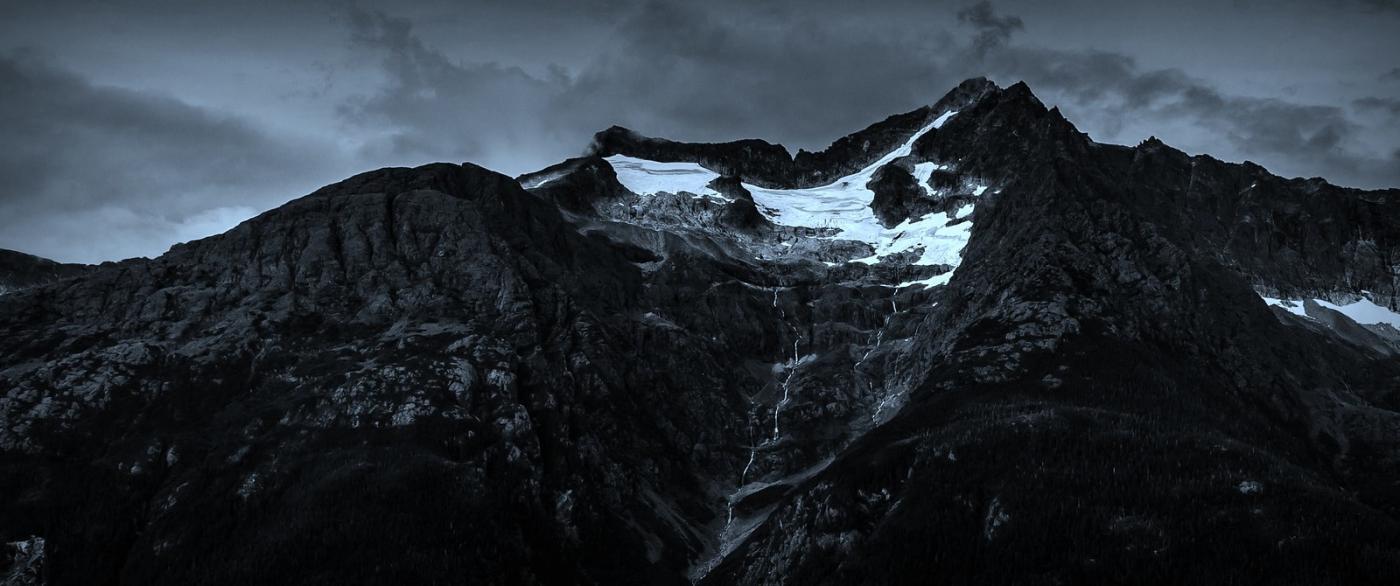 阿拉斯加,高山冰川流水_图1-1
