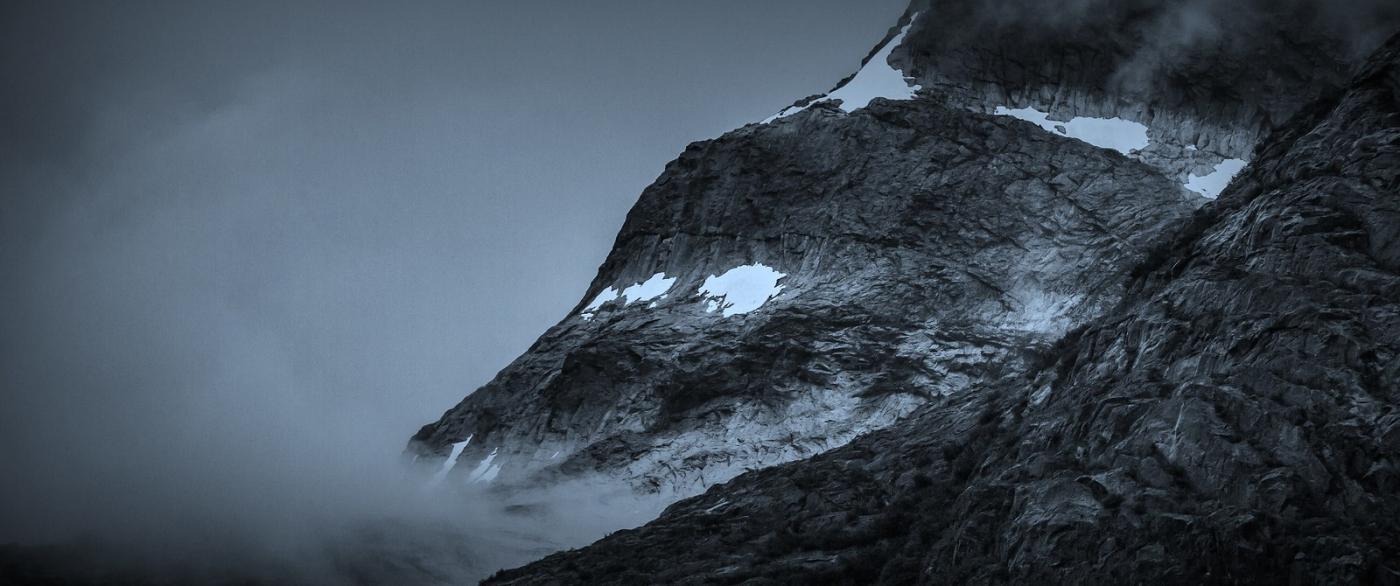 阿拉斯加,高山冰川流水_图1-2