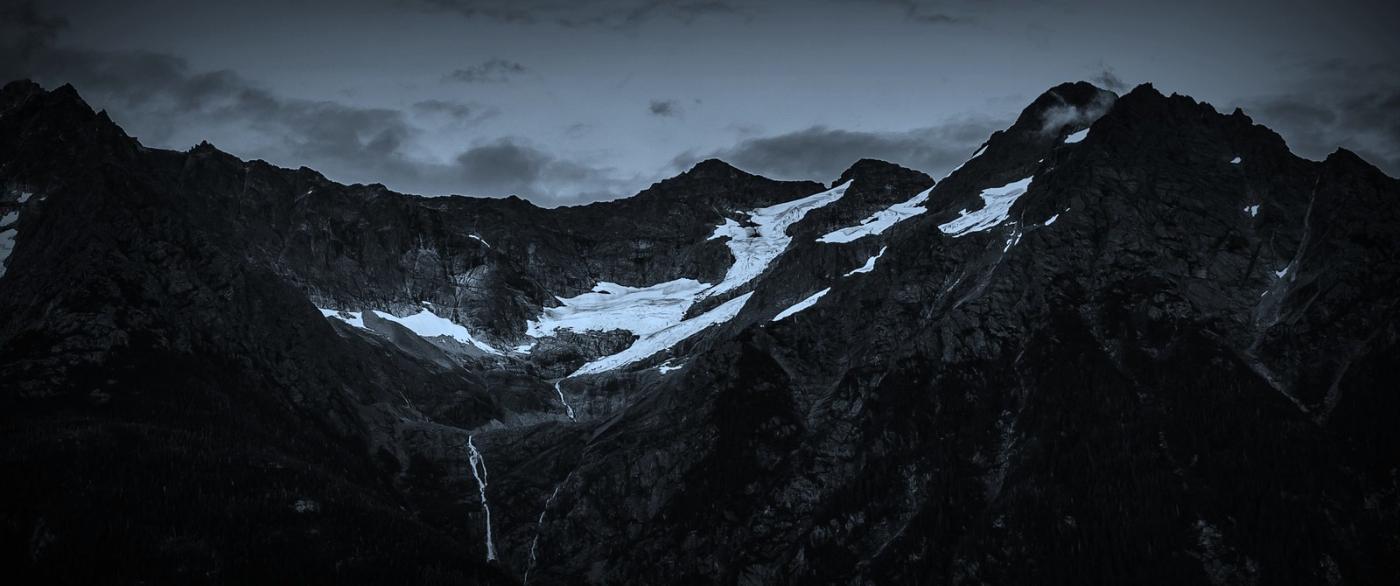 阿拉斯加,高山冰川流水_图1-5