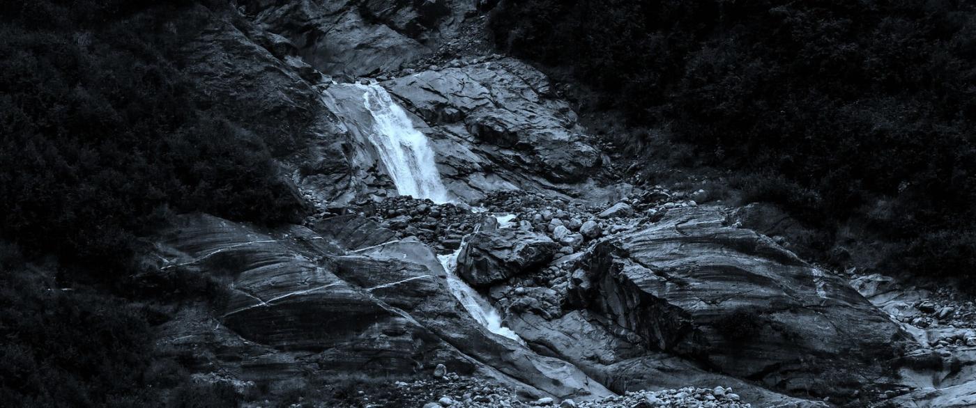 阿拉斯加,高山冰川流水_图1-6