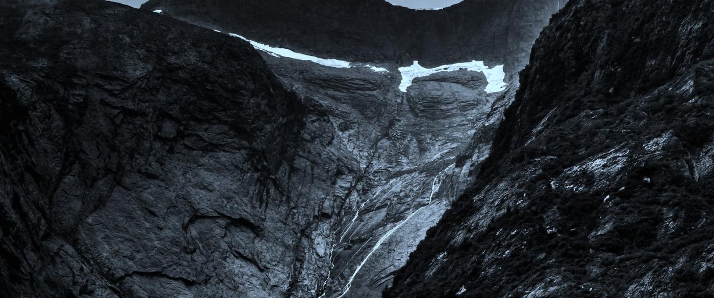阿拉斯加,高山冰川流水_图1-9