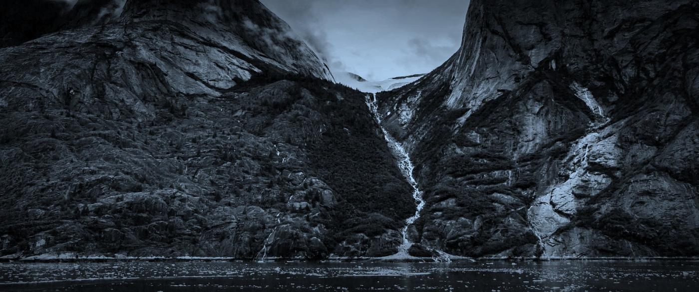 阿拉斯加,高山冰川流水_图1-10