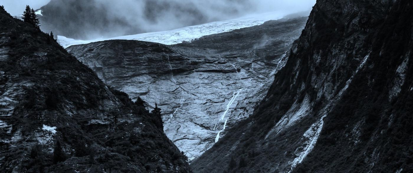 阿拉斯加,高山冰川流水_图1-11