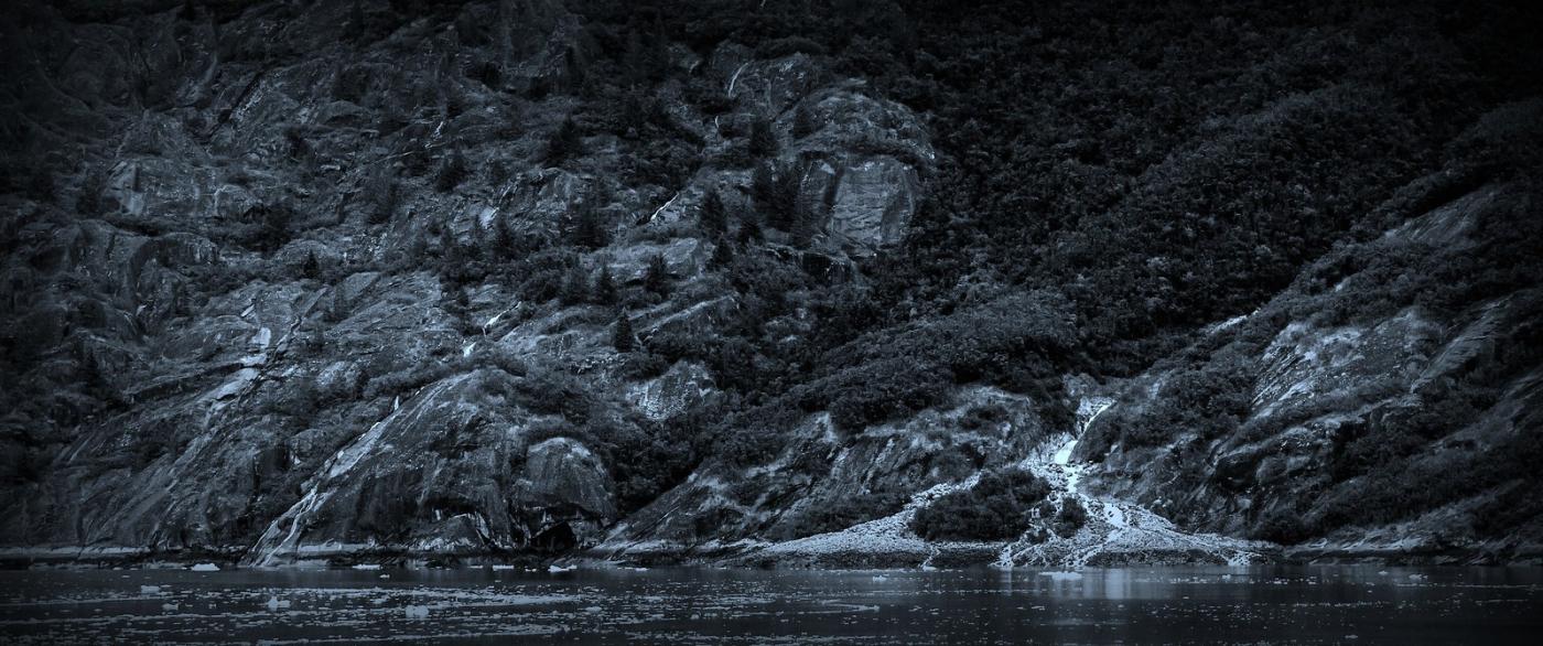阿拉斯加,高山冰川流水_图1-12