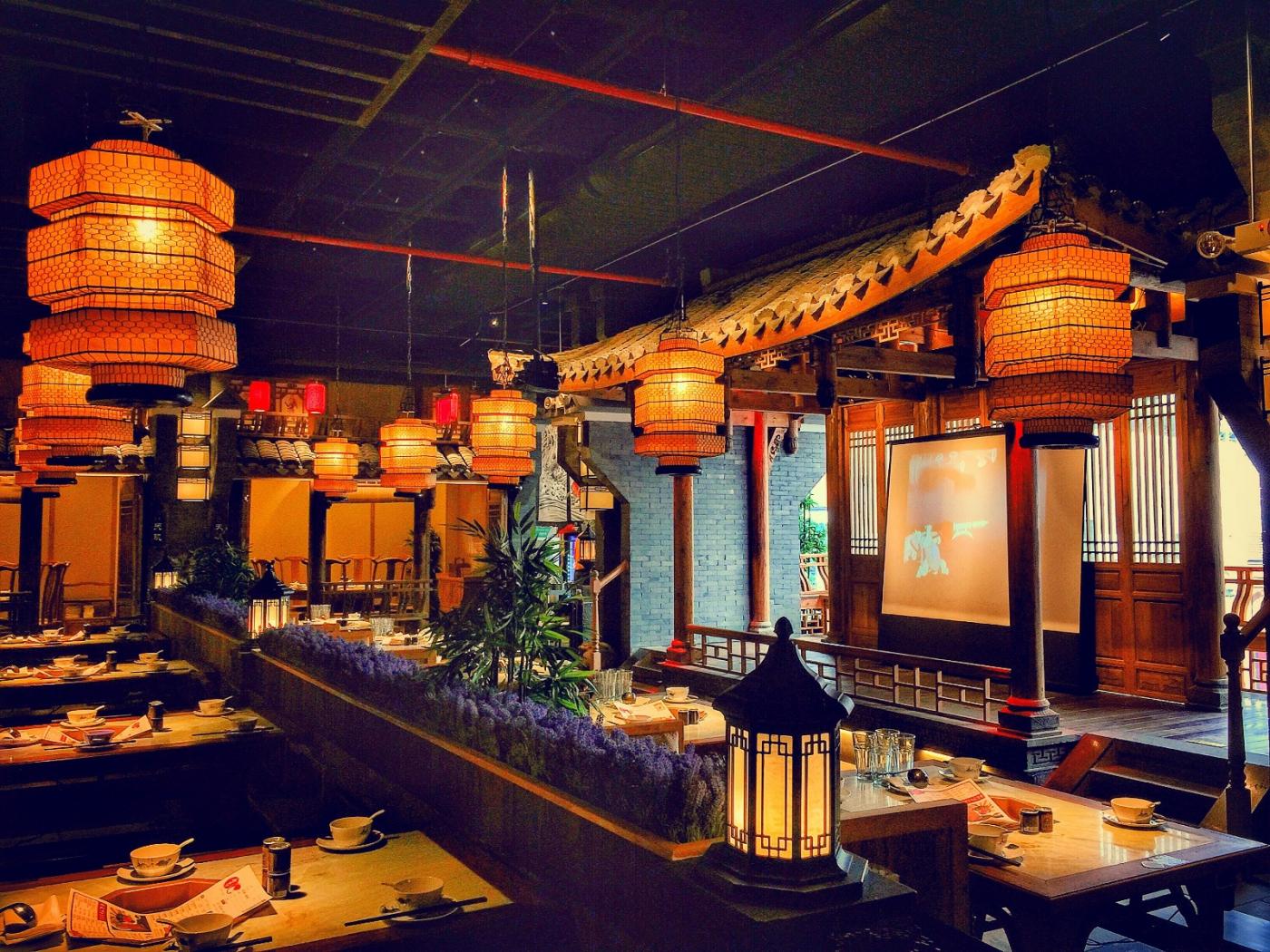 【盲流摄影】纽约法拉盛的中餐馆品味在提升-手机摄影_图1-1