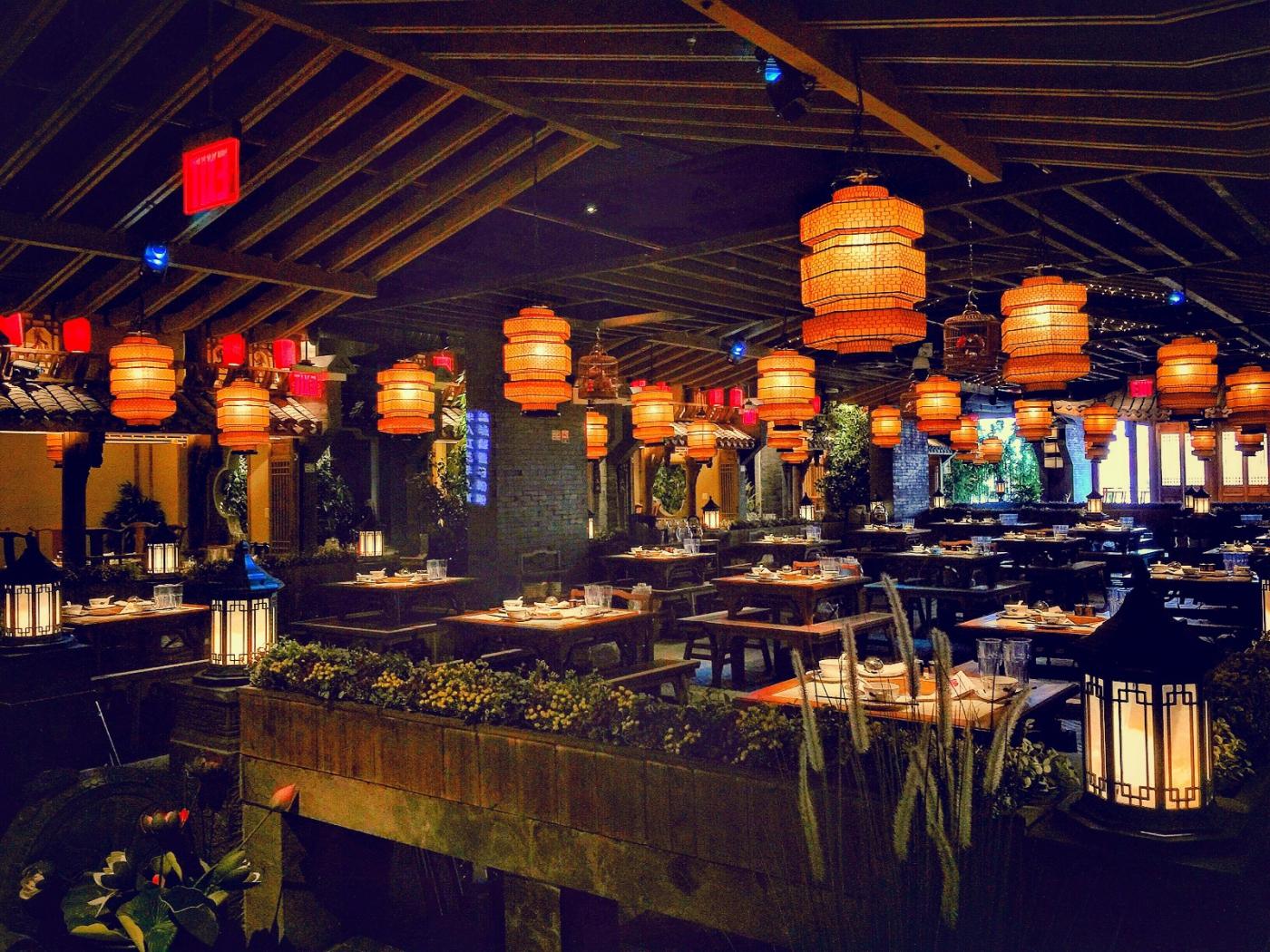【盲流摄影】纽约法拉盛的中餐馆品味在提升-手机摄影_图1-8