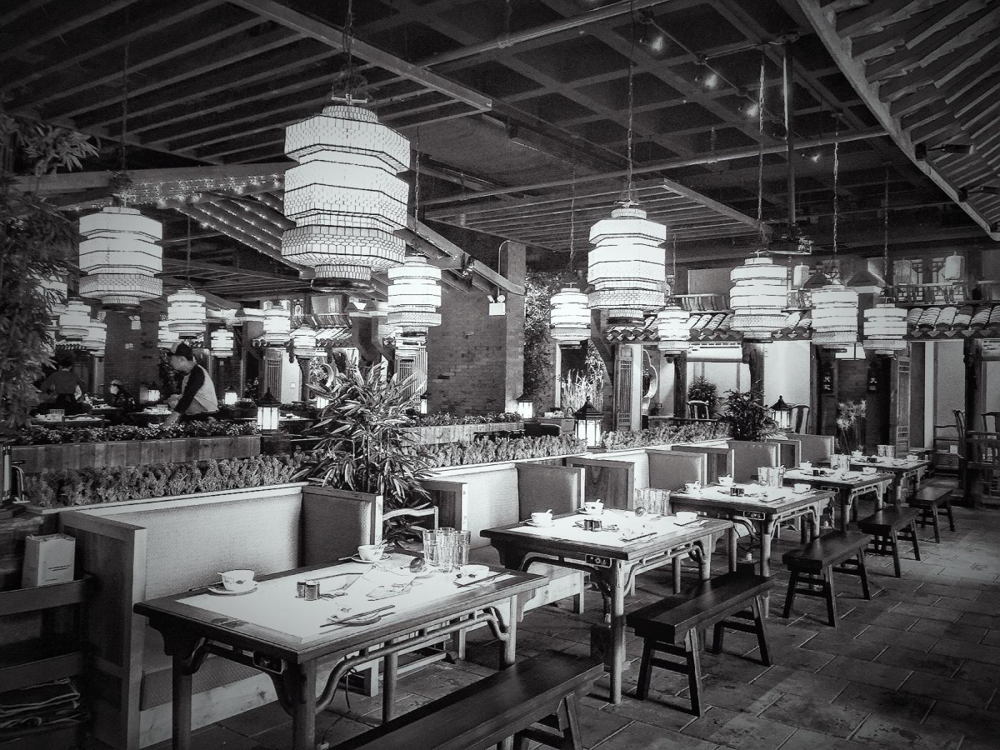 【盲流摄影】纽约法拉盛的中餐馆品味在提升-手机摄影_图1-41