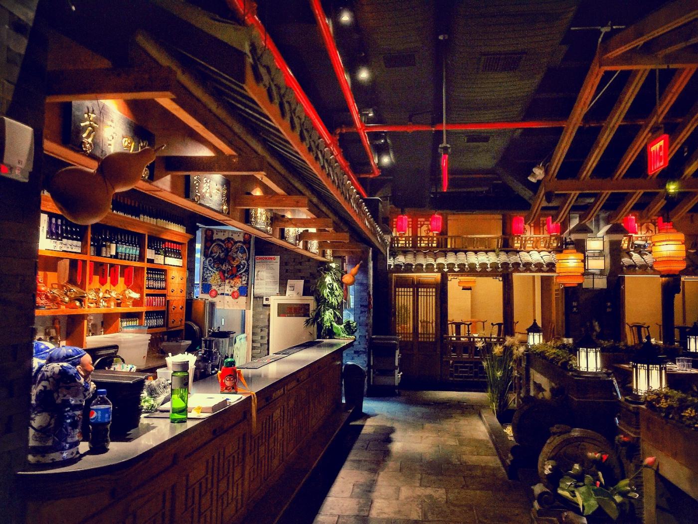【盲流摄影】纽约法拉盛的中餐馆品味在提升-手机摄影_图1-10