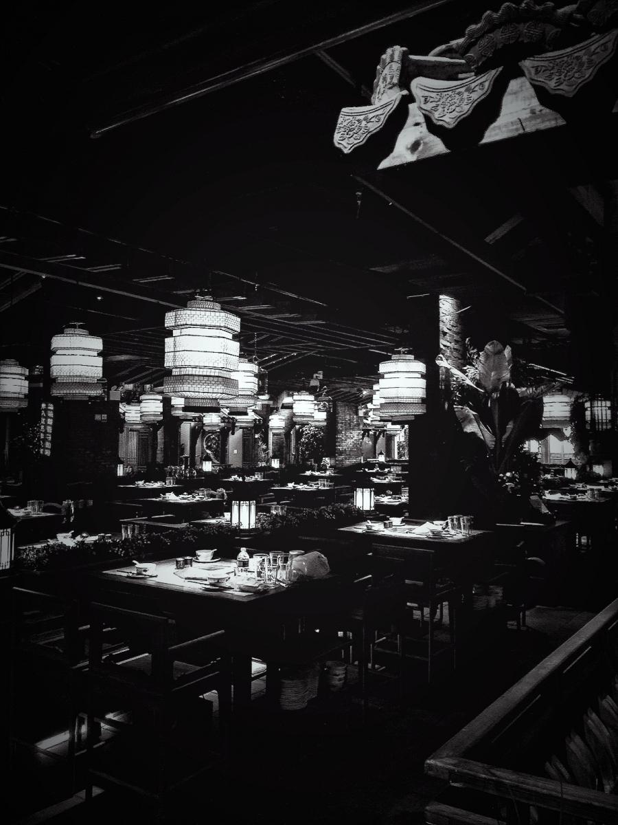 【盲流摄影】纽约法拉盛的中餐馆品味在提升-手机摄影_图1-40