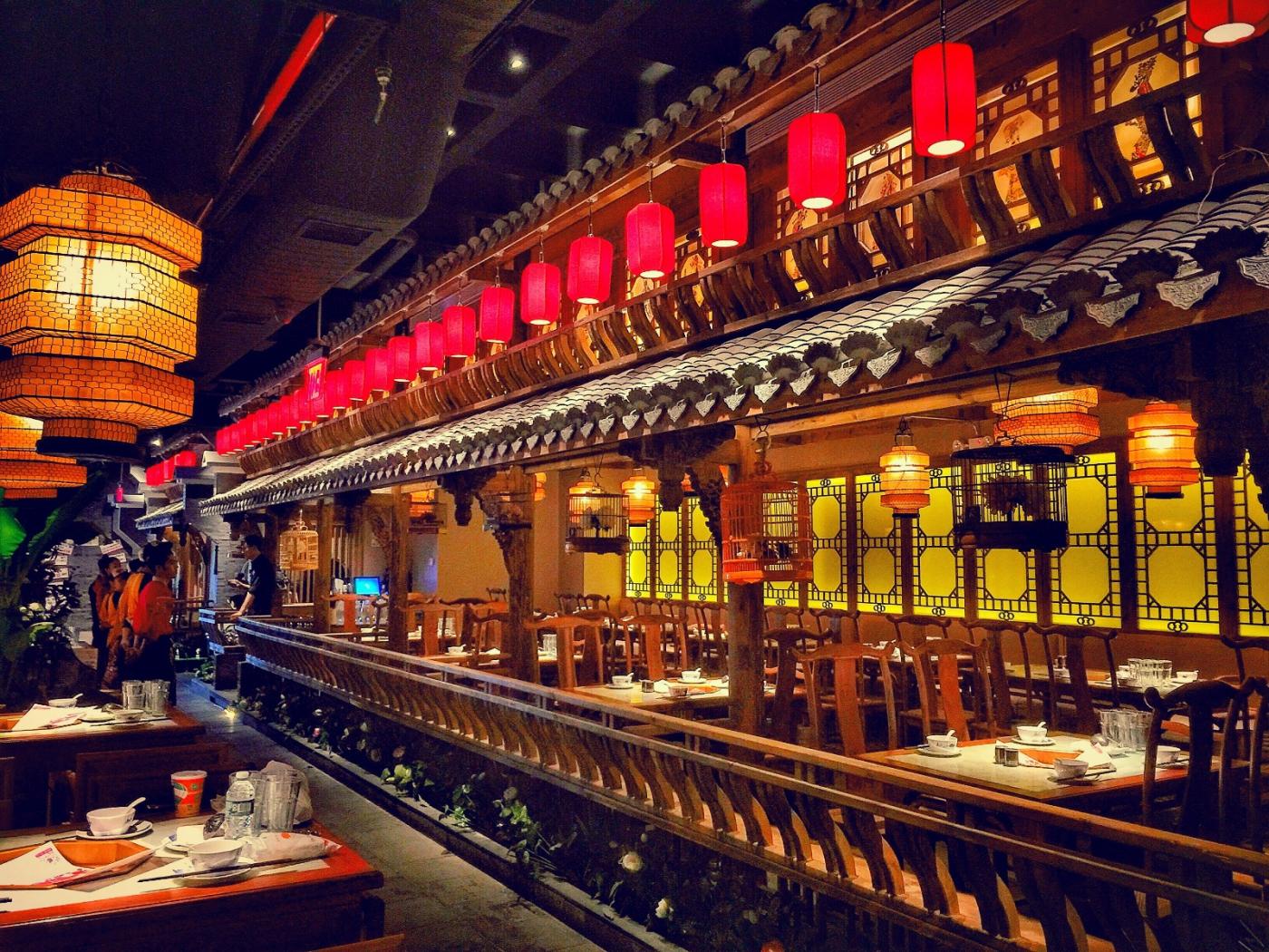 【盲流摄影】纽约法拉盛的中餐馆品味在提升-手机摄影_图1-11