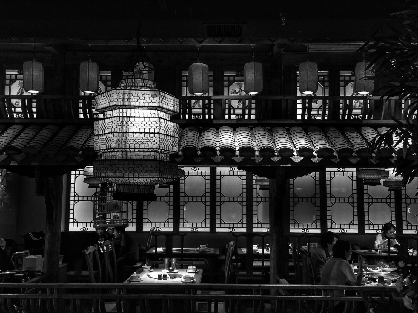 【盲流摄影】纽约法拉盛的中餐馆品味在提升-手机摄影_图1-37