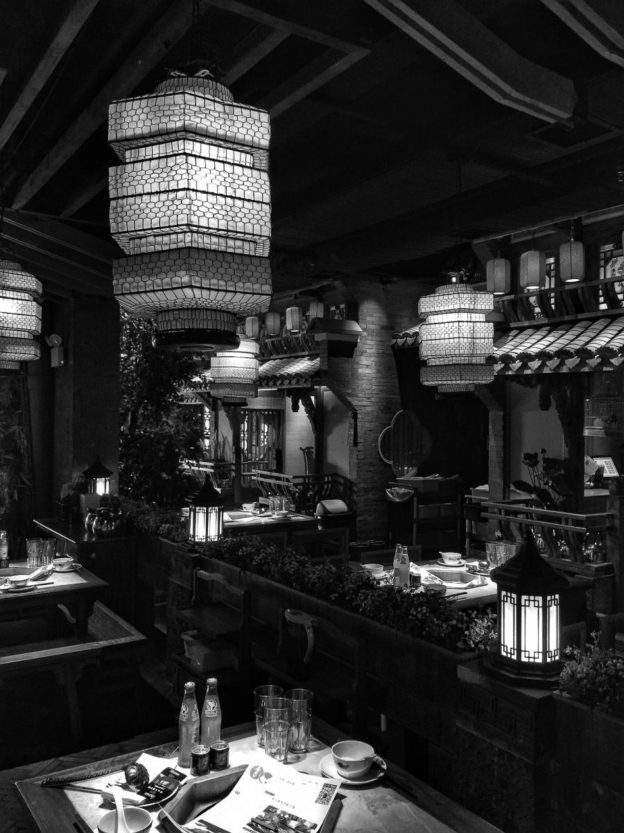【盲流摄影】纽约法拉盛的中餐馆品味在提升-手机摄影_图1-36