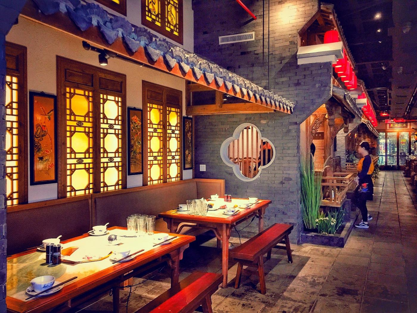 【盲流摄影】纽约法拉盛的中餐馆品味在提升-手机摄影_图1-13