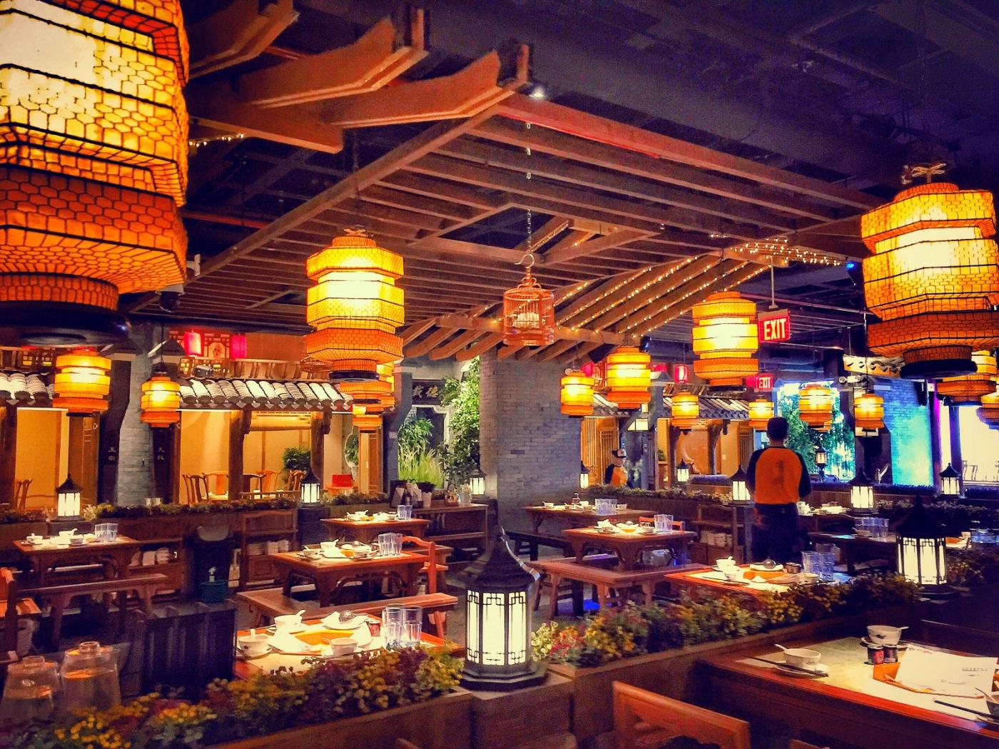 【盲流摄影】纽约法拉盛的中餐馆品味在提升-手机摄影_图1-15