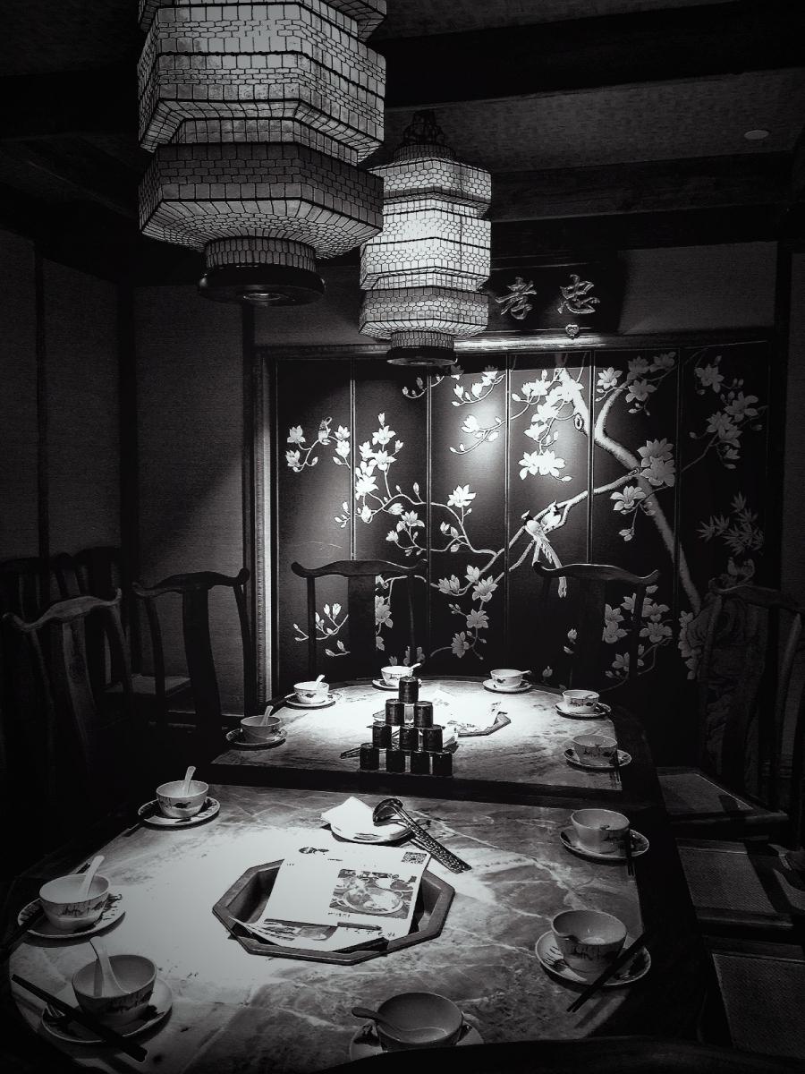 【盲流摄影】纽约法拉盛的中餐馆品味在提升-手机摄影_图1-35