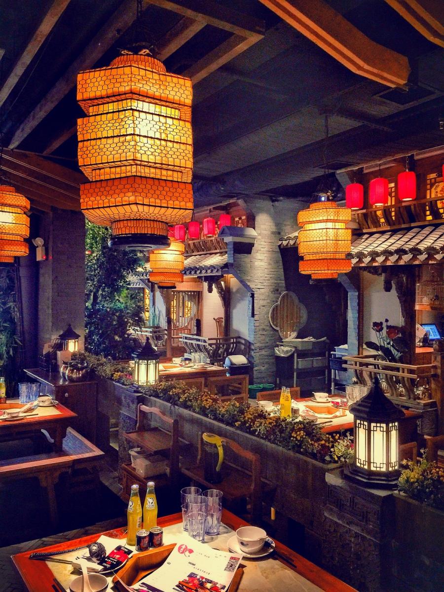 【盲流摄影】纽约法拉盛的中餐馆品味在提升-手机摄影_图1-17