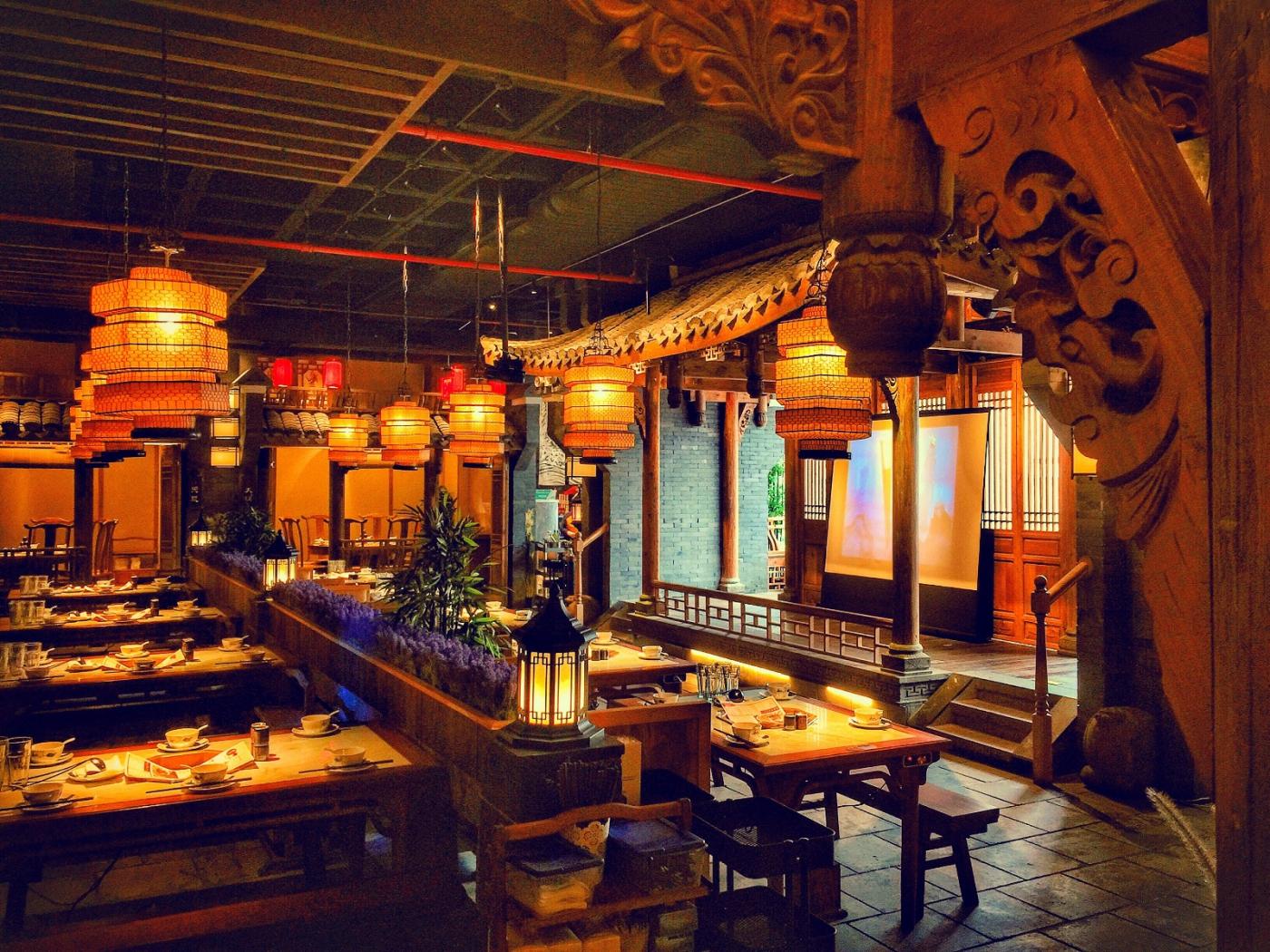 【盲流摄影】纽约法拉盛的中餐馆品味在提升-手机摄影_图1-18