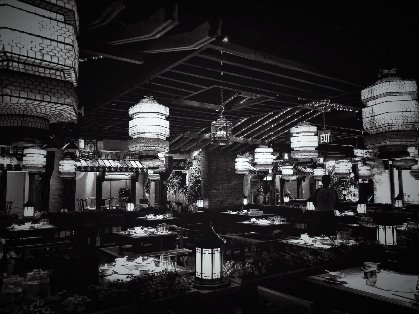 【盲流摄影】纽约法拉盛的中餐馆品味在提升-手机摄影_图1-33