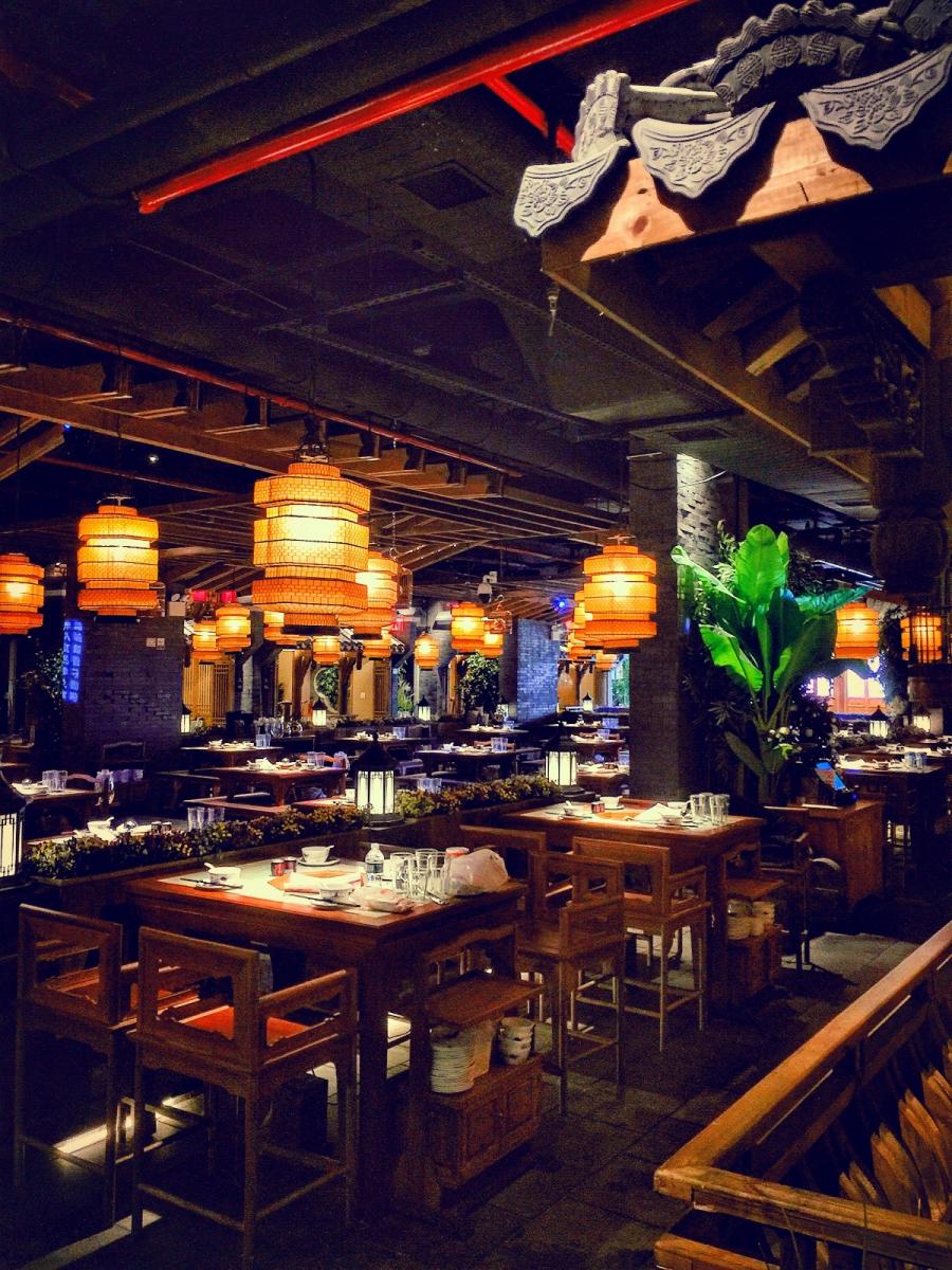 【盲流摄影】纽约法拉盛的中餐馆品味在提升-手机摄影_图1-19