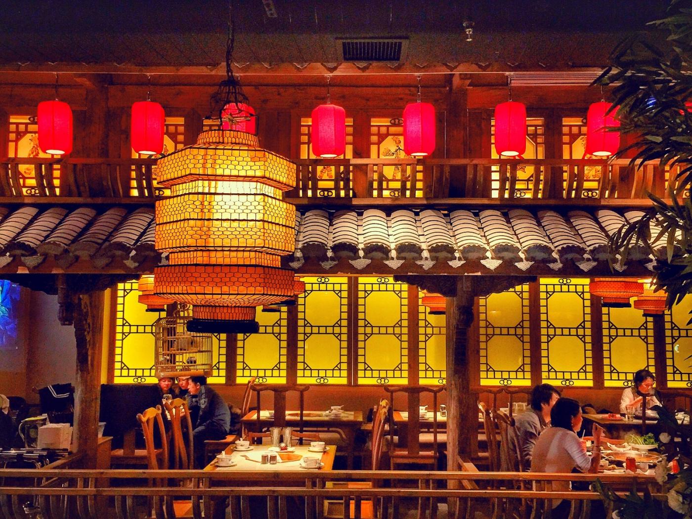 【盲流摄影】纽约法拉盛的中餐馆品味在提升-手机摄影_图1-20