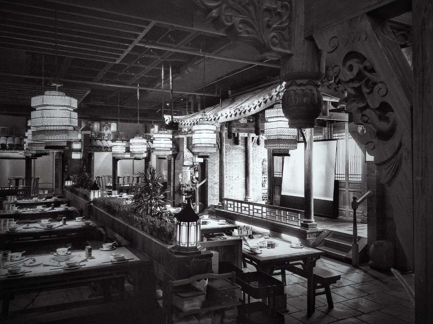 【盲流摄影】纽约法拉盛的中餐馆品味在提升-手机摄影_图1-34