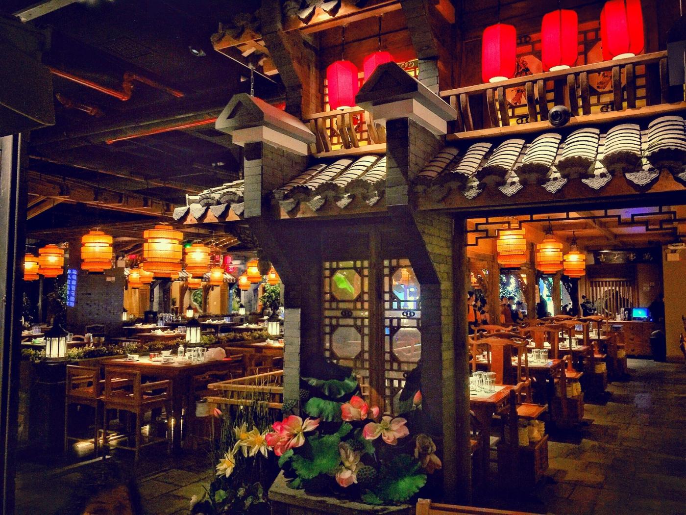 【盲流摄影】纽约法拉盛的中餐馆品味在提升-手机摄影_图1-21