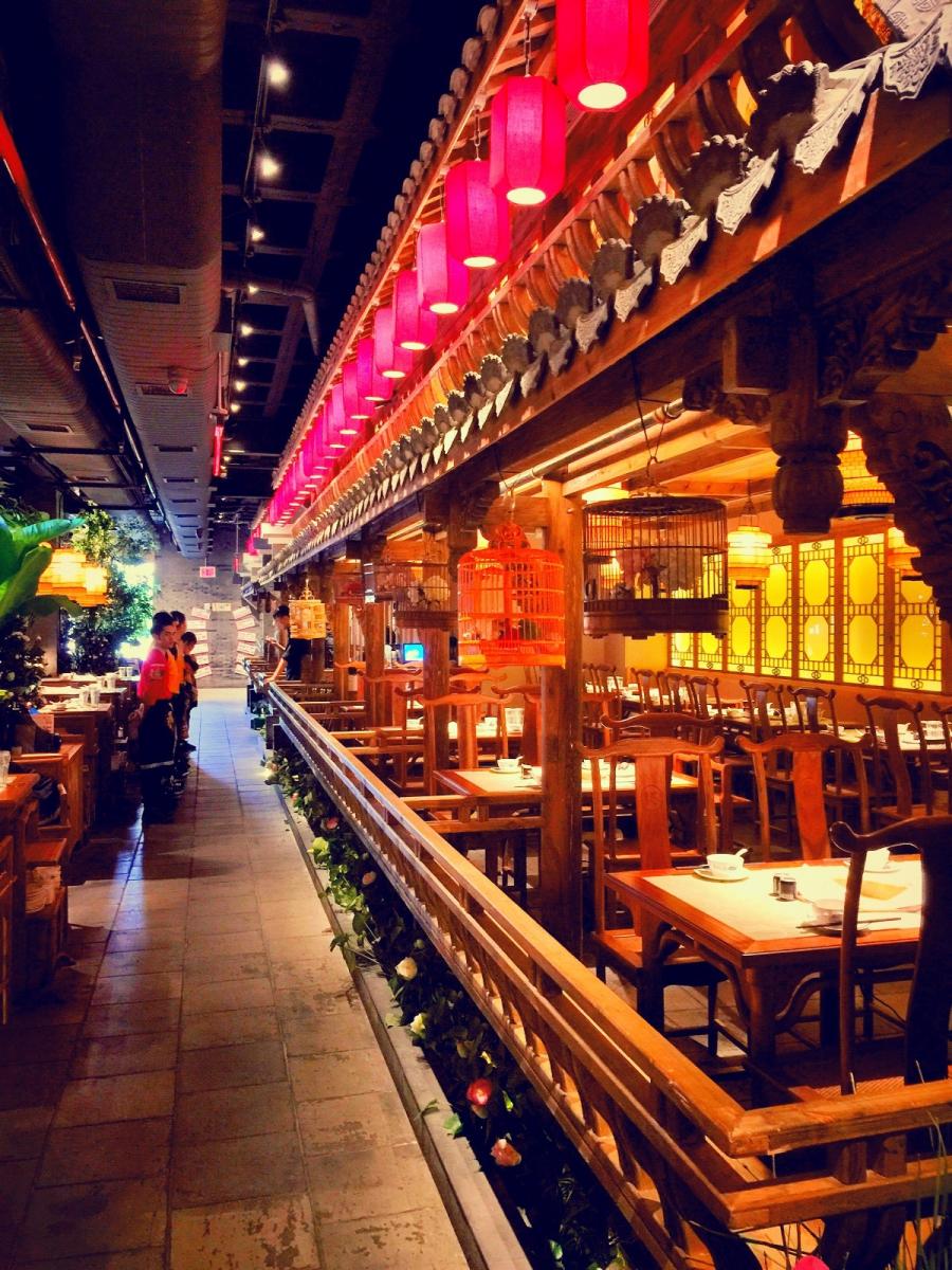 【盲流摄影】纽约法拉盛的中餐馆品味在提升-手机摄影_图1-23