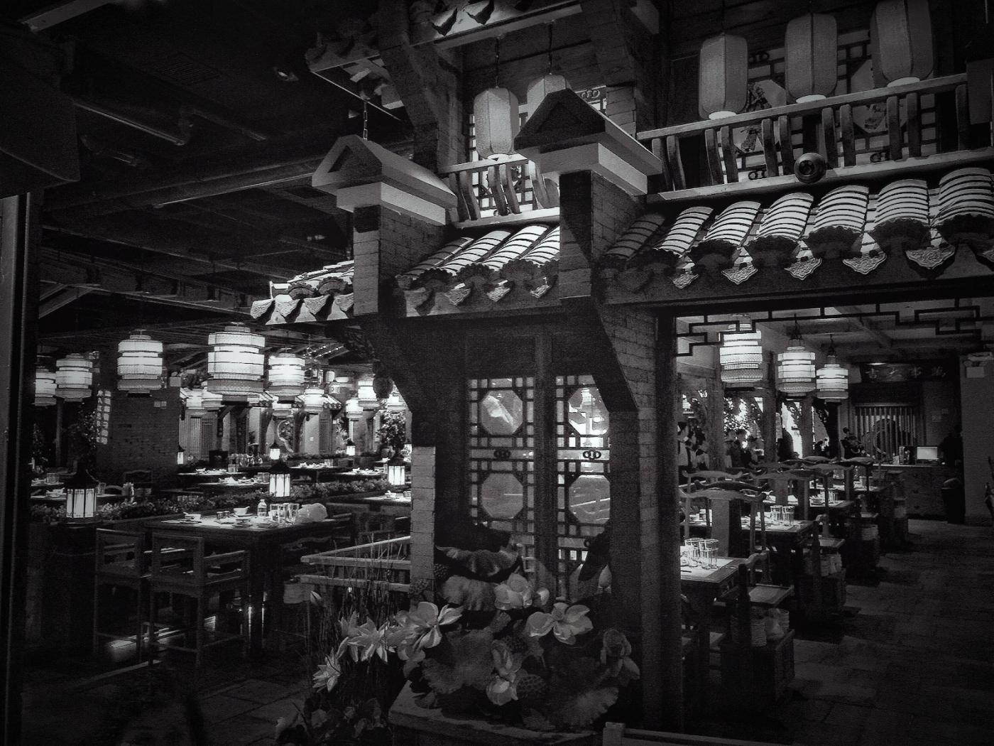 【盲流摄影】纽约法拉盛的中餐馆品味在提升-手机摄影_图1-28