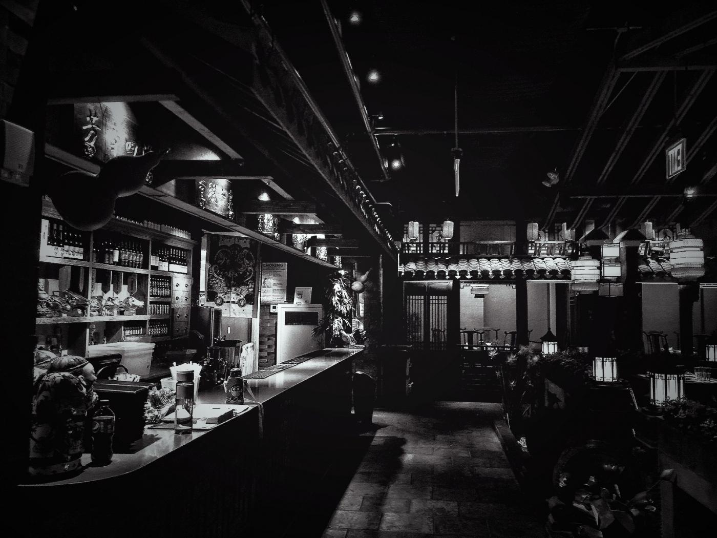 【盲流摄影】纽约法拉盛的中餐馆品味在提升-手机摄影_图1-30