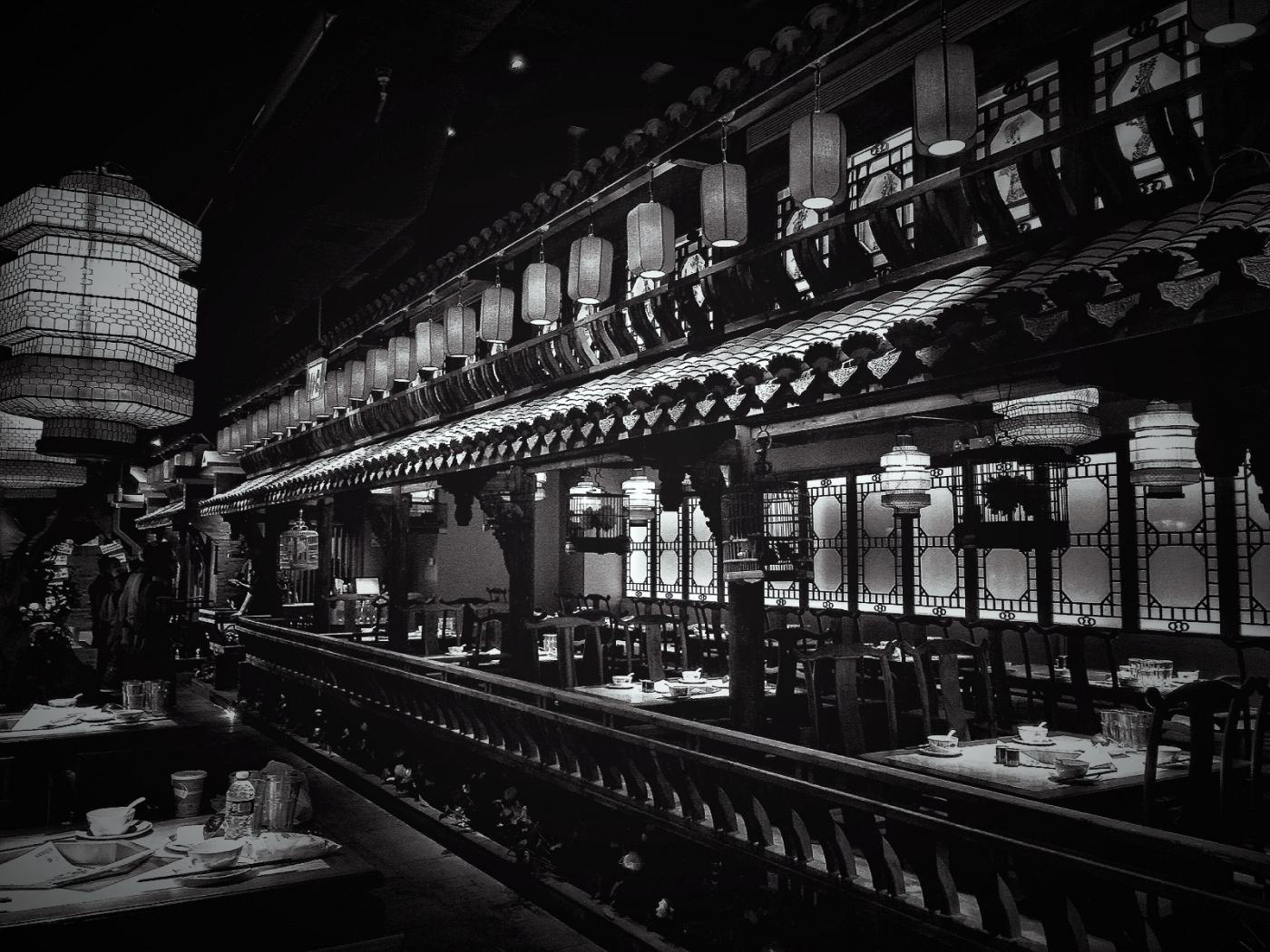 【盲流摄影】纽约法拉盛的中餐馆品味在提升-手机摄影_图1-31
