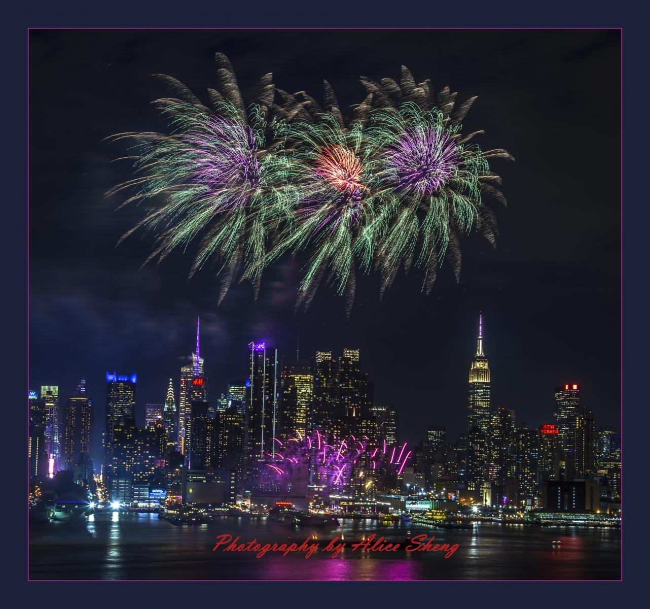 2018纽约中国领事馆贺新年焰火_图1-8