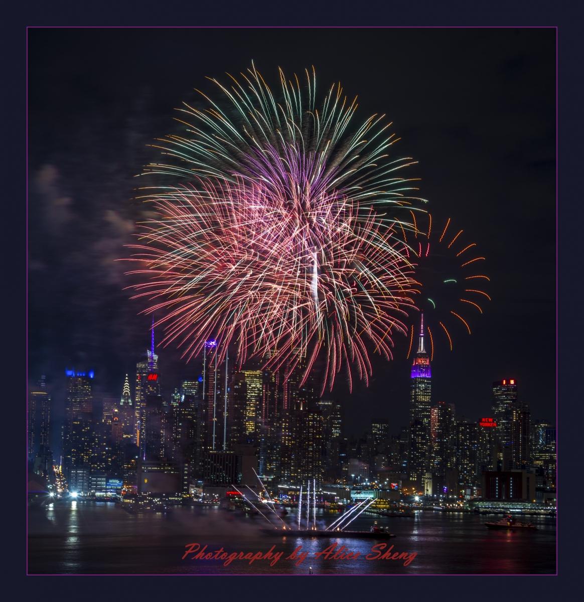 2018纽约中国领事馆贺新年焰火_图1-6