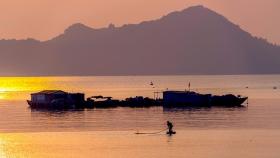 宁静祥和美丽迷人的越南吉婆岛