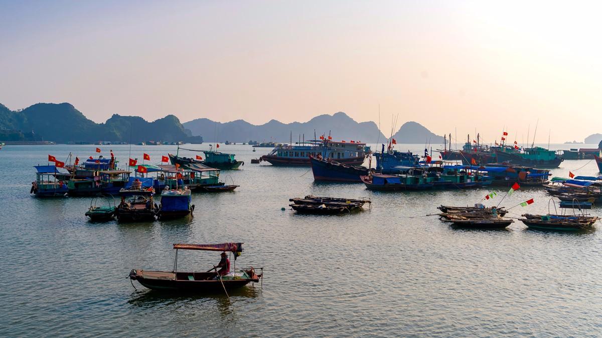 宁静祥和美丽迷人的越南吉婆岛_图1-2