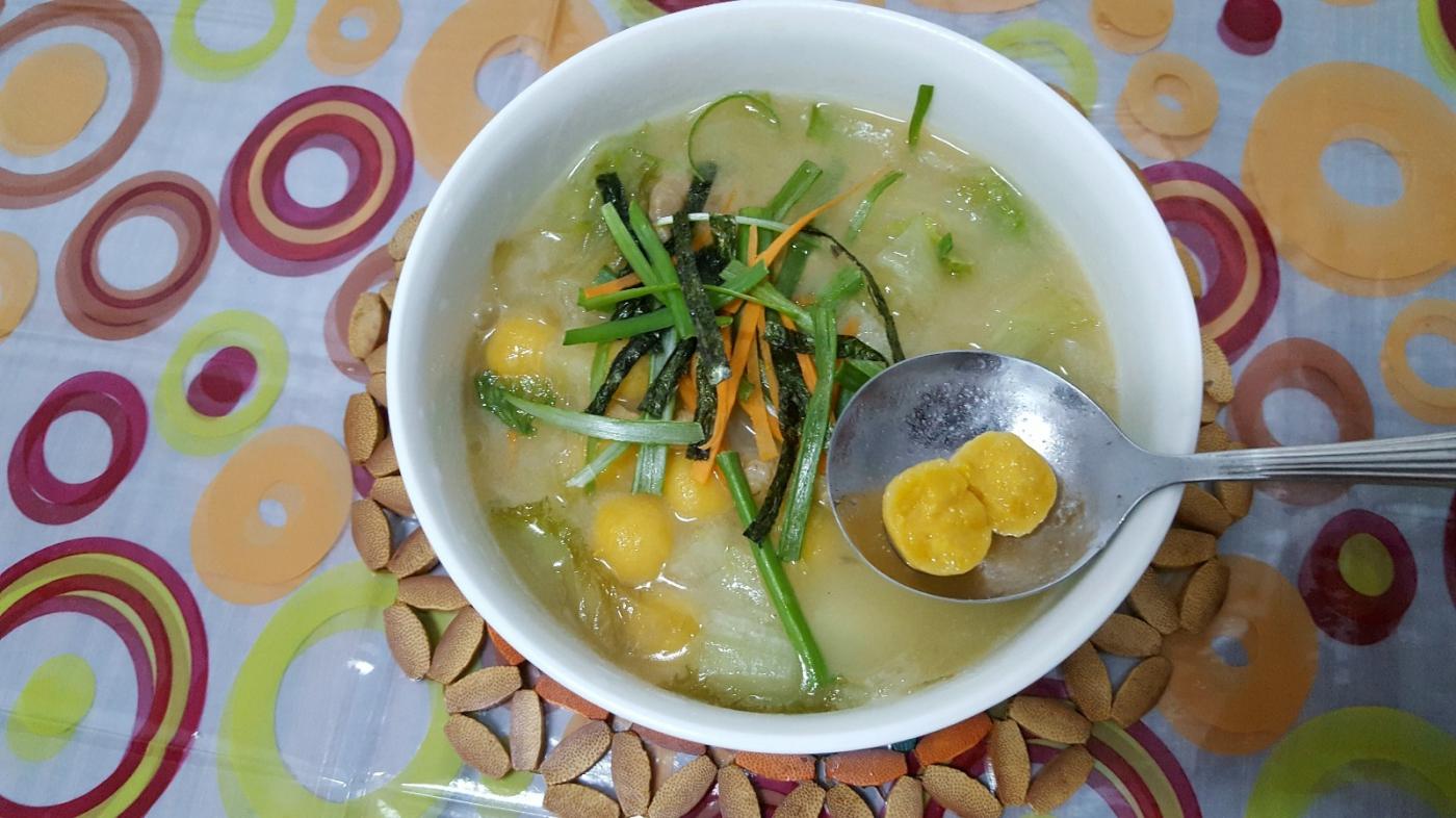 [田螺随拍]今天是元宵、我给老妈做一碗菜汤圆_图1-2