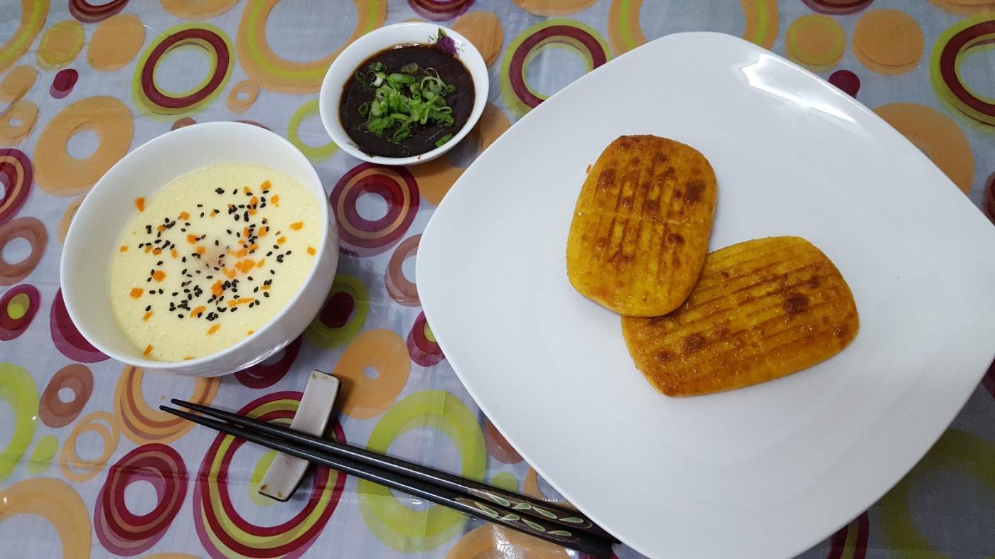 [田螺随拍]分享我做的-煎玉米排饼_图1-1