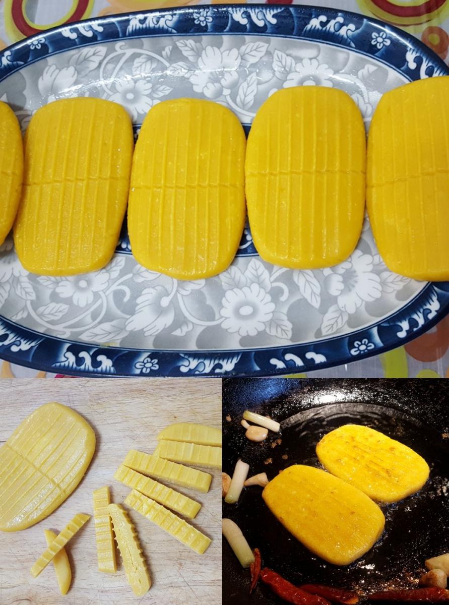 [田螺随拍]分享我做的-煎玉米排饼_图1-6