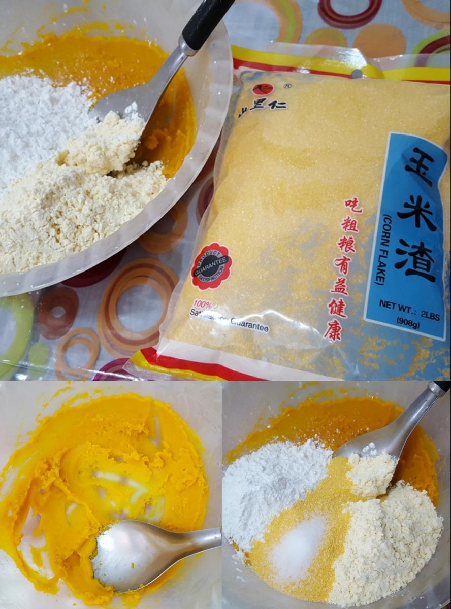[田螺随拍]分享我做的-煎玉米排饼_图1-9
