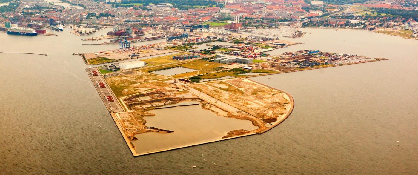 俯瞰哥本哈根,一片绿树红瓦_图1-9