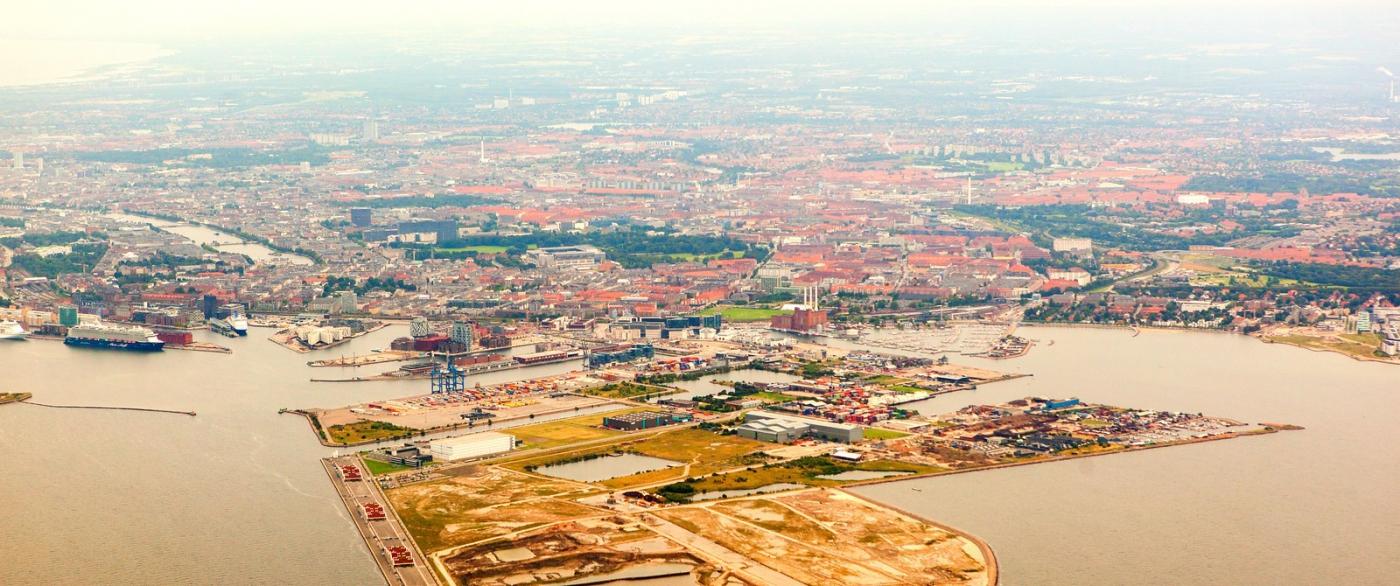 俯瞰哥本哈根,一片绿树红瓦_图1-10