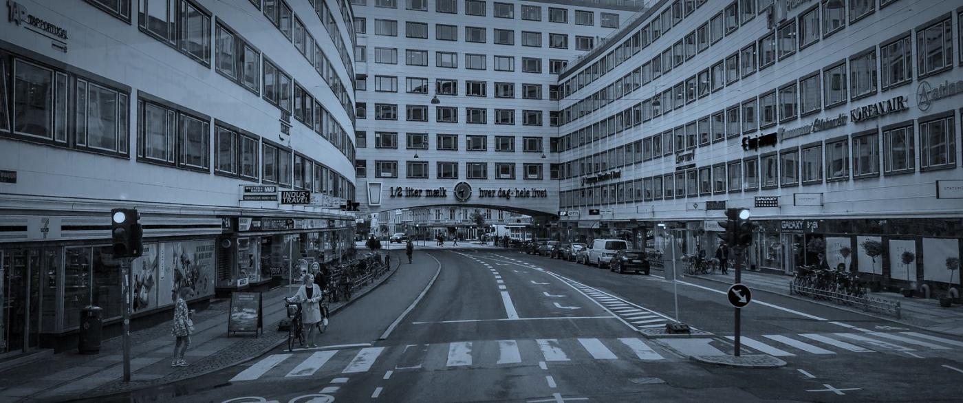 丹麦哥本哈根,即使而过的街景_图1-6