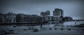 丹麦哥本哈根,即使而过的街景