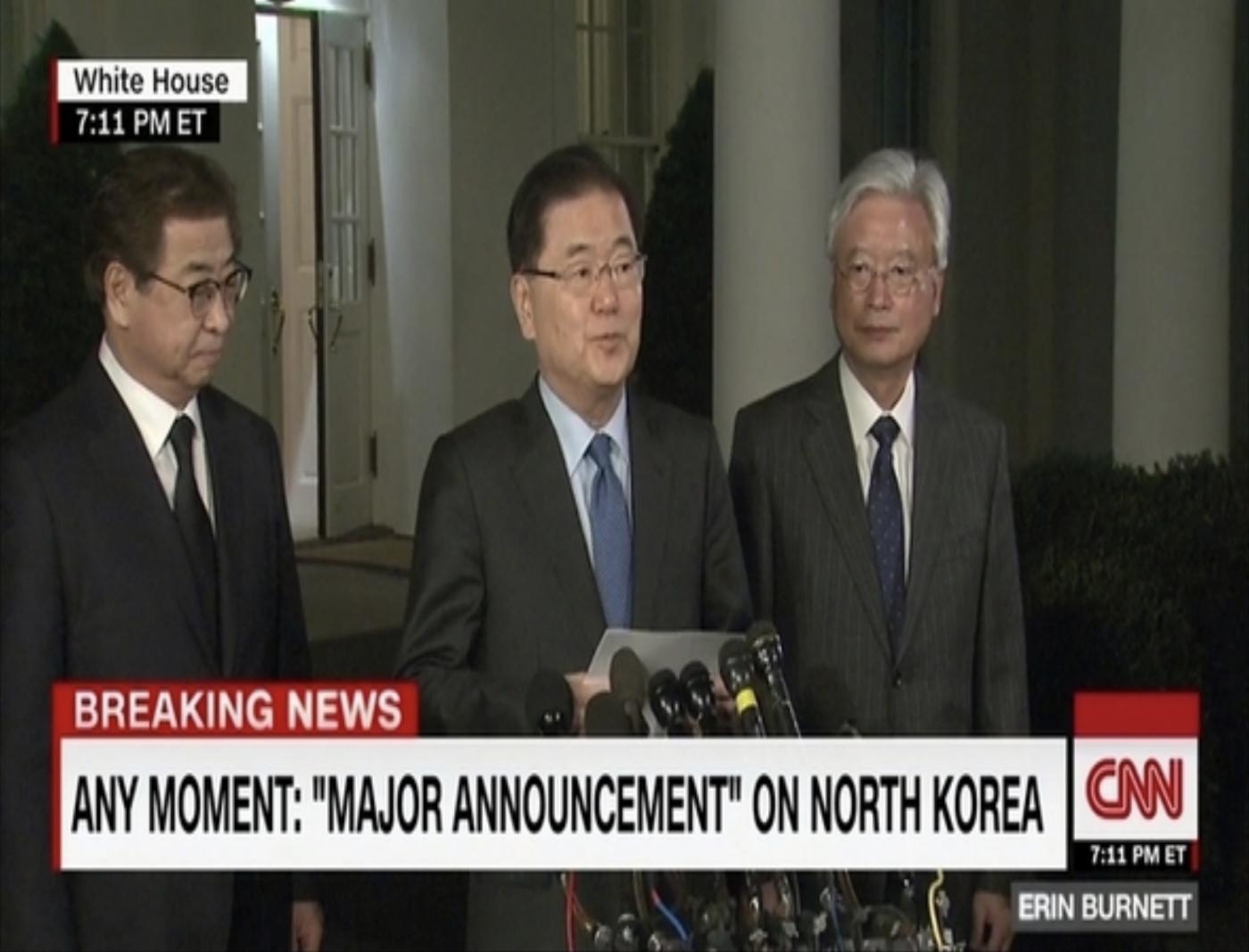 朝鲜半岛局势获重大突破的背后细节_图1-3