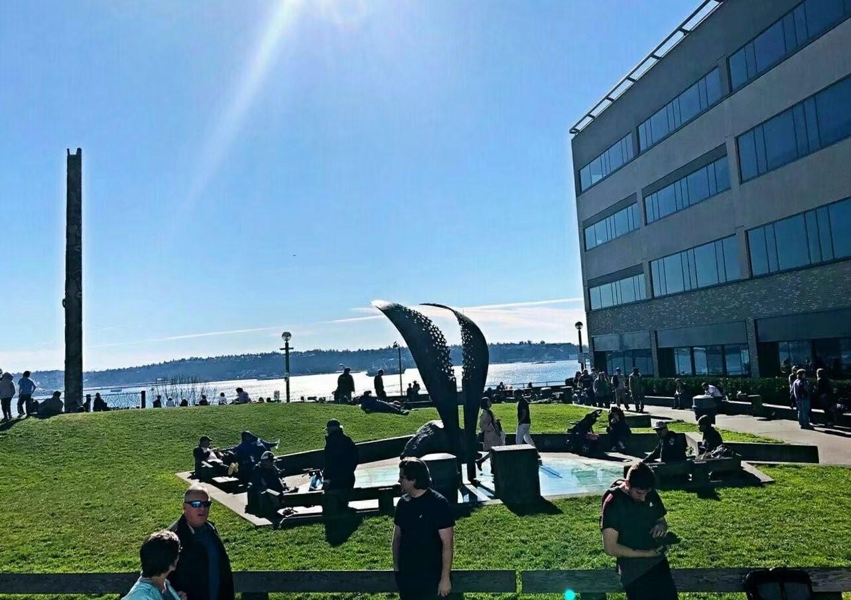 水陆两栖车游西雅图(图)_图1-11