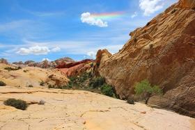 犹他州的黄岩岗  2