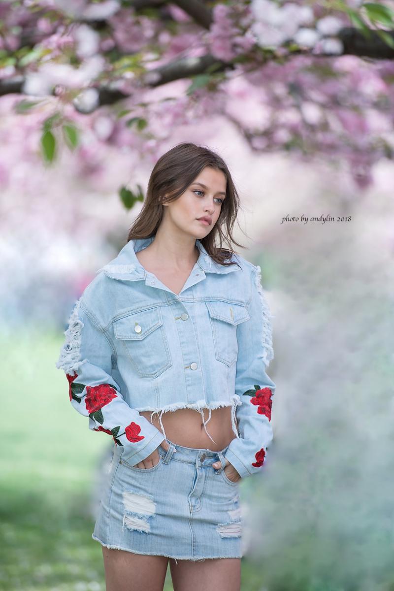 春暖花开,植物园美少女抓拍_图1-1