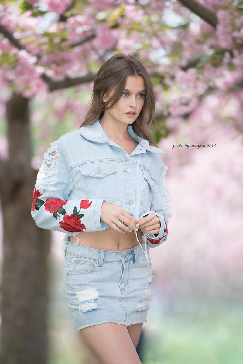 春暖花开,植物园美少女抓拍_图1-2