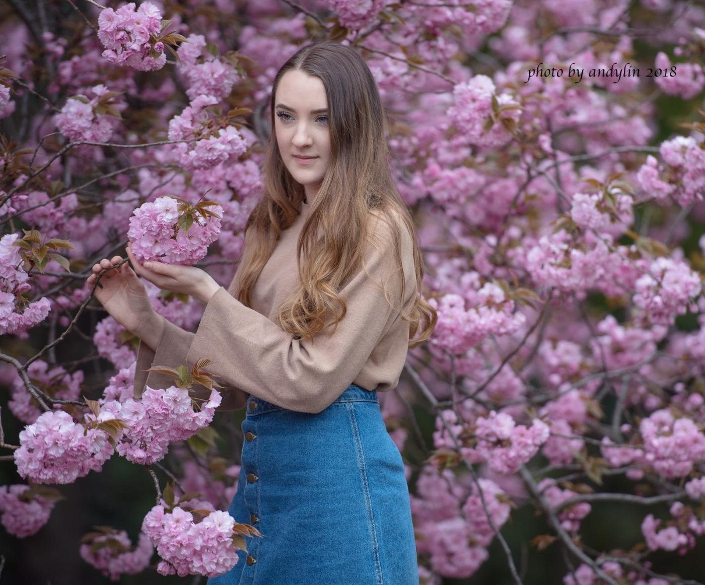 春暖花开,植物园美少女抓拍_图1-8