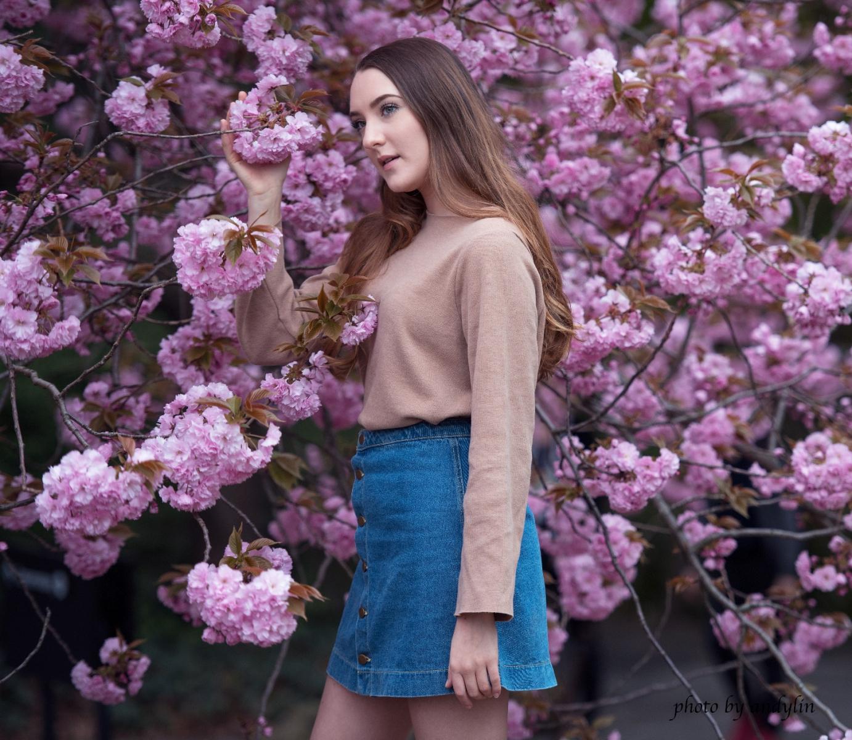 春暖花开,植物园美少女抓拍_图1-9